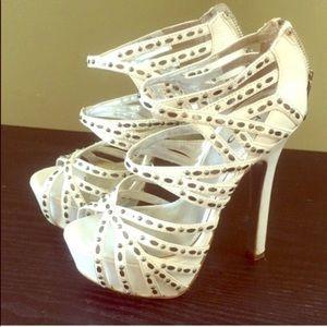 White heels !!